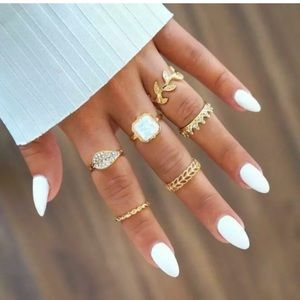 Stunning Boho ring set